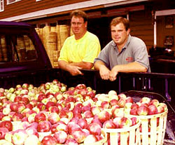 Peter and John Melick, Melick's Town Farm, Oldwick, New Jersey